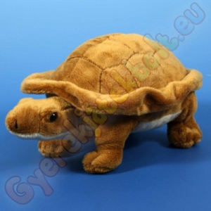 Semo Toys Plüss teknősbéka (barna) 25cm