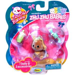 Zhu Zhu Pets Zhu Zhu Baby - Indigo bébi kutyus