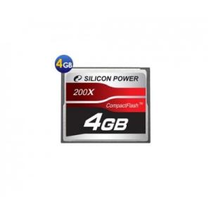 Silicon Power Compact Flash 4 GB