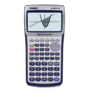 Casio FX-9860G SD