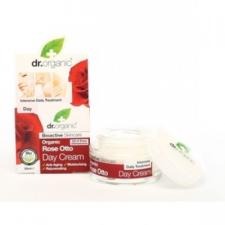 Dr. Organic bio rózsa nappali krém - 50ml bőrápoló szer