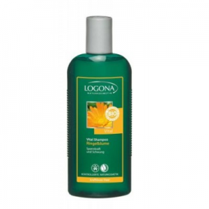 Logona Bio Körömvirág vitalizáló sampon tartás nélküli hajra 250 ml