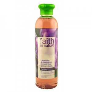 Faith in Nature Levendula és Geránium tusfürdő - Faith in Nature 250 ml