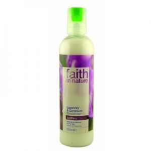 Faith in Nature Levendula és geránium hajkondicionáló - Faith in Nature (250ml)