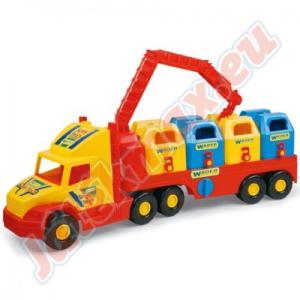 Wader Super Truck Szelektív hulladékgyűjtő kukáskocsi - Wader