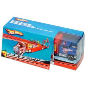Mattel HW: Autókilövő kék kamion
