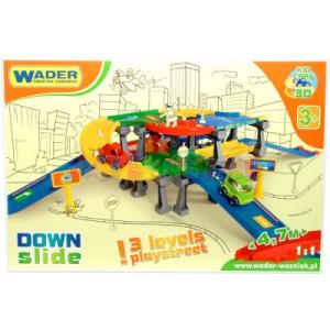 Wader : Kid Cars 3D háromszintes lehajtós parkolóház