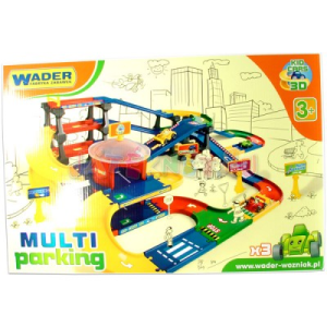 Wader : Kid Cars Multi 3D parkolóház