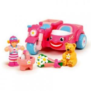 WOW Amy, az oldalkocsis motorkerékpár - WOW Toys