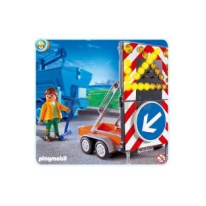 Playmobil Világító útelterelő tábla - 4049