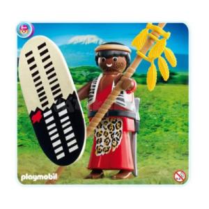 Playmobil Massai harcos - 4685