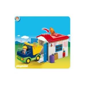 Playmobil Teherautó formakereső garázzsal - 6759