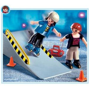 Playmobil Két görkoris a rámpán - 4415
