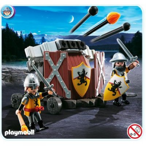 Playmobil Háromszoros hajítógép Oroszlán lovagokkal - 4867