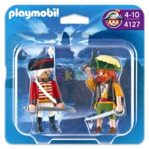 Playmobil Kalóz és vörös kabátos katona - 4127