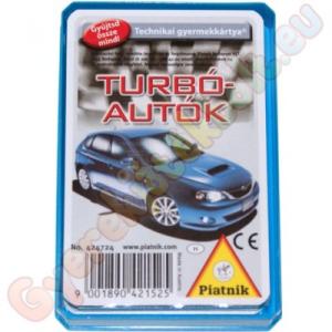 Piatnik Turbó autók kártyajáték