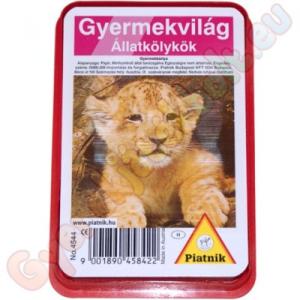 Piatnik Gyermekvilág: Állatbébik kártyajáték