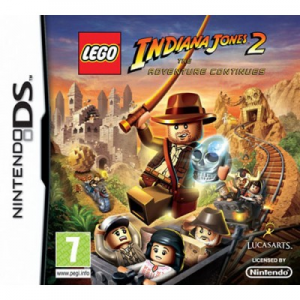 LucasArts Lego Indiana Jones 2 The Adventure Continues