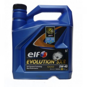 ELF EVOLUTION SXR 5W40 5L