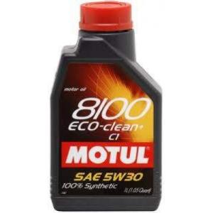 Motul 8100 ECO-Clean + 5W-30 motorolaj 1L