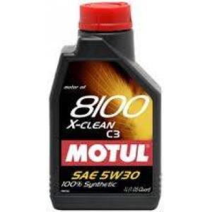 Motul 8100 X-clean 5W-30 motorolaj 1L
