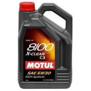 Motul 8100 X-clean 5W-30 motorolaj 5L