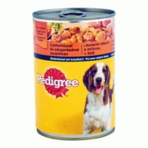 Pedigree Kutyaeledel konzerv 400 g csirkehússal