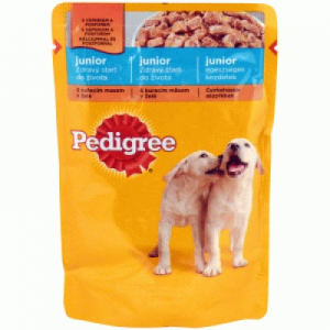 Pedigree Junior alutasakos 100 g csirke