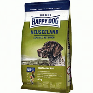 Happy Dog Supreme kutyaeledel 4 kg Neuseeland