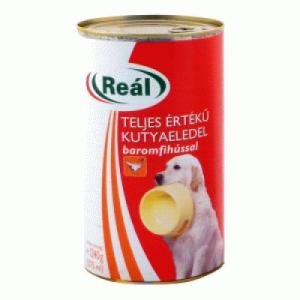 Reál Kutyaeledel konzerv 1240 g baromfihúsos