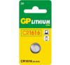GP CR1616 elem és akkumulátor