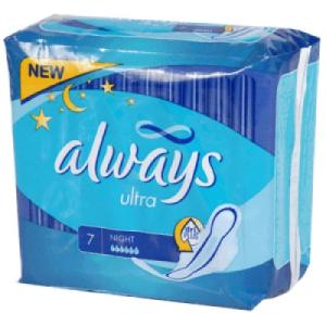 Always Ultra Egészségügyi betét 7 db-os night