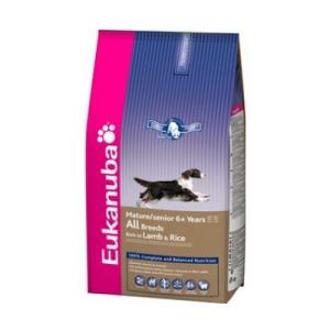 Eukanuba Mature & Senior Lamb & Rice