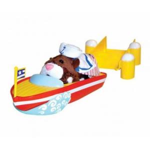 Zhu Zhu Pets Hörcsög csónak stéggel