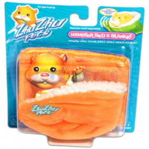 Zhu Zhu Pets - naranccsárga hörcsögpihenő ágy