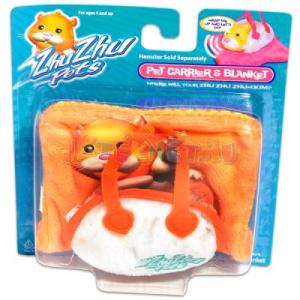 Zhu Zhu Pets - narancssárga táskás hörcsögpihenő