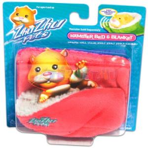 Zhu Zhu Pets Zhu Zhu Pets - rózsaszín hörcsögpihenő ágy