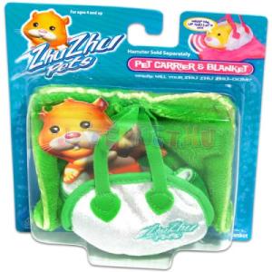 Zhu Zhu Pets - zöld táskás hörcsögpihenő