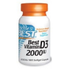 Best Vitamin D3 2000IU 180db