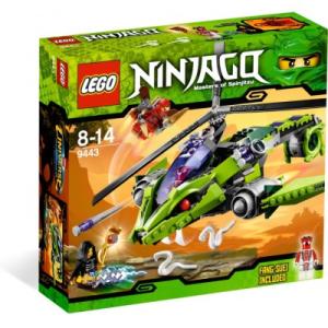 LEGO Kígyókopter 9443
