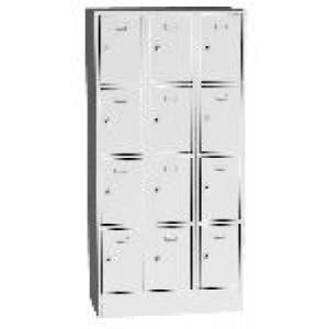 K2463/12 12 ajtós értékmegőrző szekrény