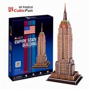 Shantou Empire State Building 38 db-os világító 3D puzzle