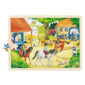 Goki Fa puzzle - Lovarda