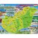 Larsen Magyarország térkép (magyar nyelvű) K60