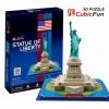 Shantou Szabadság szobor 37 db-os világító 3D puzzle