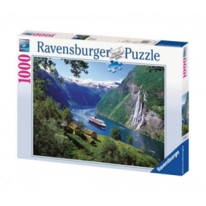 Ravensburger Norvég fjord 1000 db