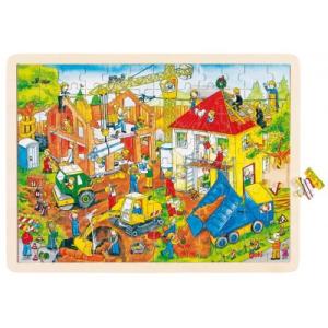 Goki Fa puzzle - Építkezés
