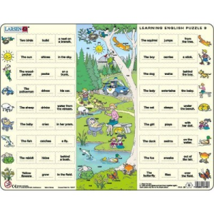 Larsen Tanuljunk angolul! 9: a parkban EN9 54 db