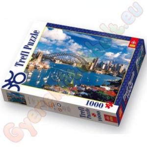 Port Port Jackson Sydney 1000 db-os puzzle - Trefl
