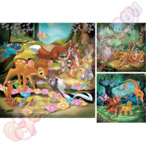 Ravensburger Animal Friends 3x49 db-os puzzle - Ravensburger